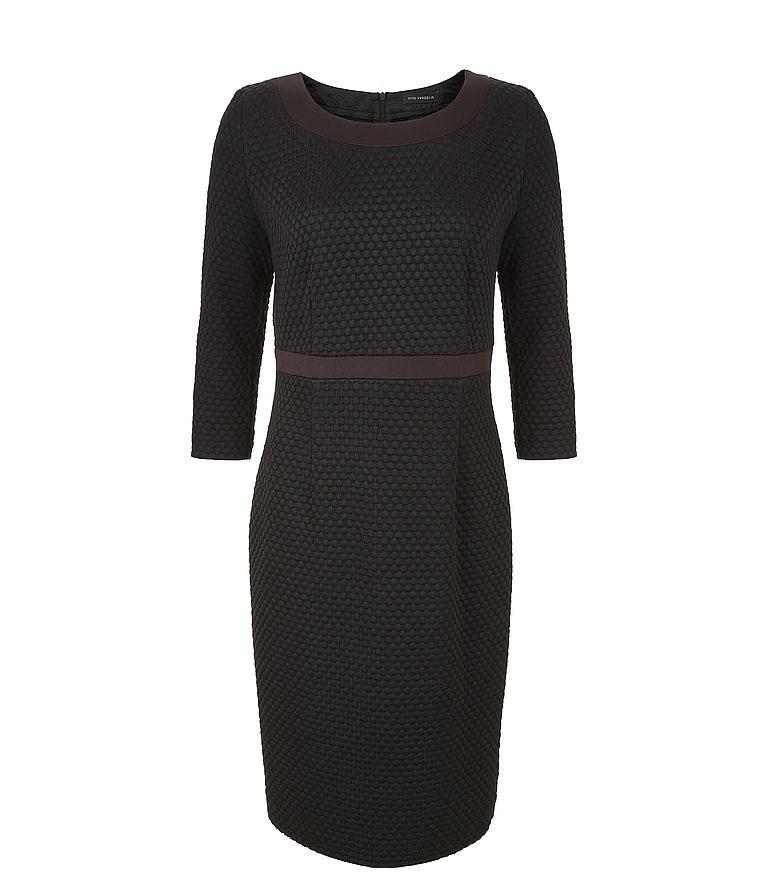Czarna sukienka bąble