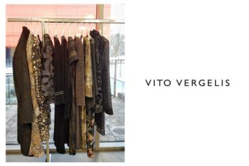 sukienki w kolorach brązu i czerni Vito Vergelis