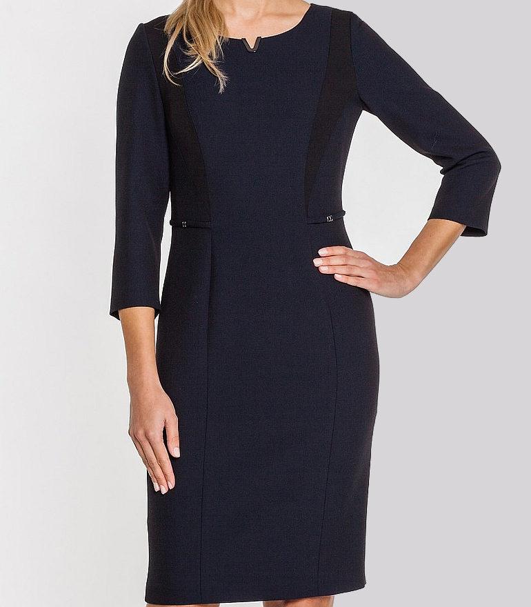 klasyczna sukienka do pracy