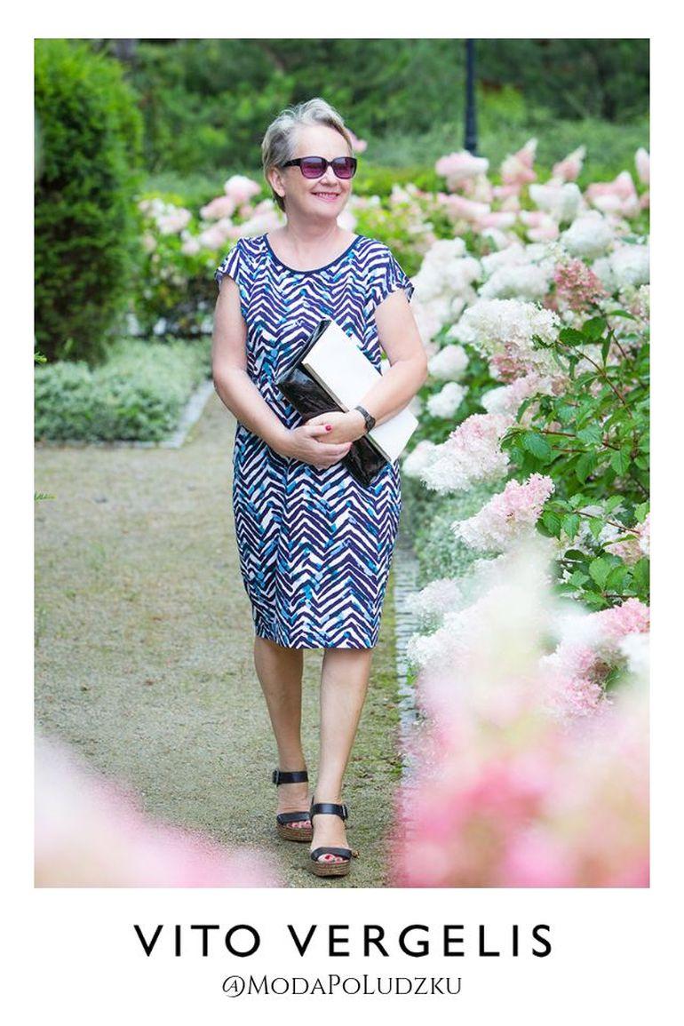 Pani Krystyna Balakier moda po ludzki - sukienka Vito Vergelis
