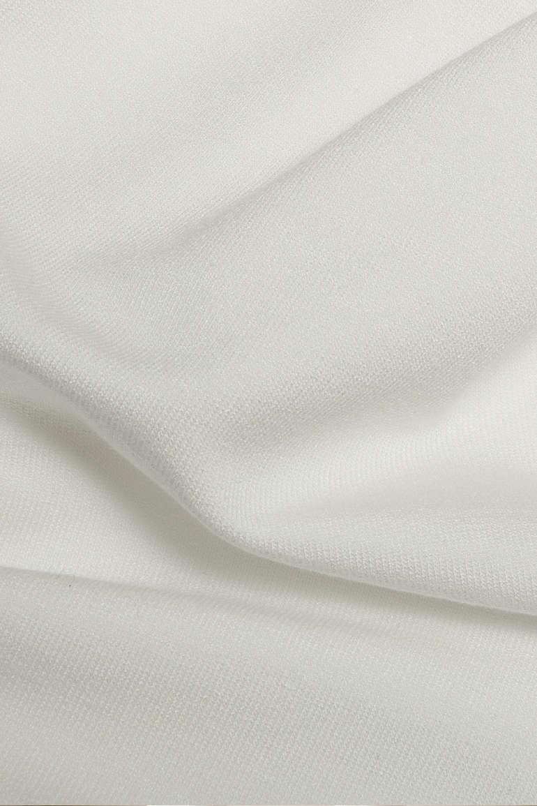 biały dres damski z dzianiny micromodal polska marka Vito Vergelis
