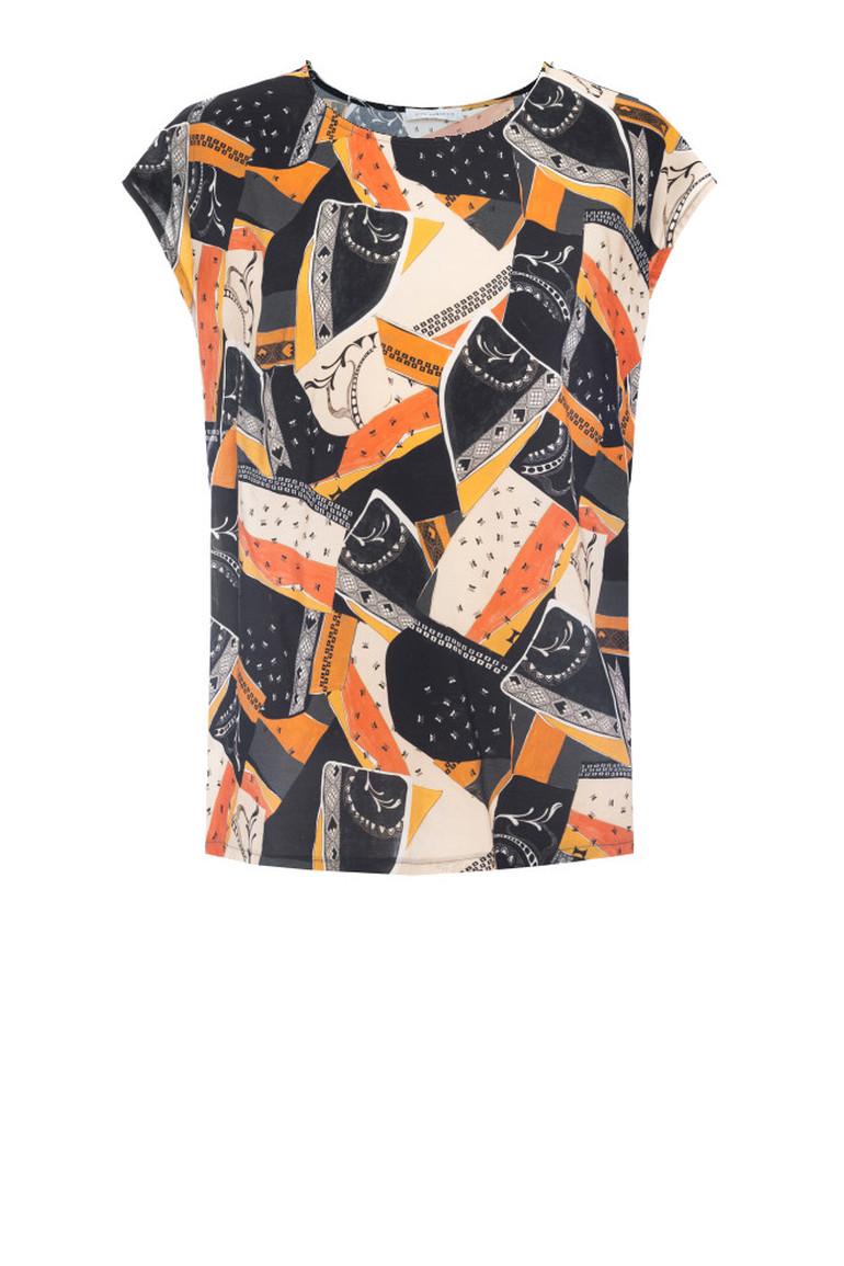 Bluzka z cupro z wiskozą