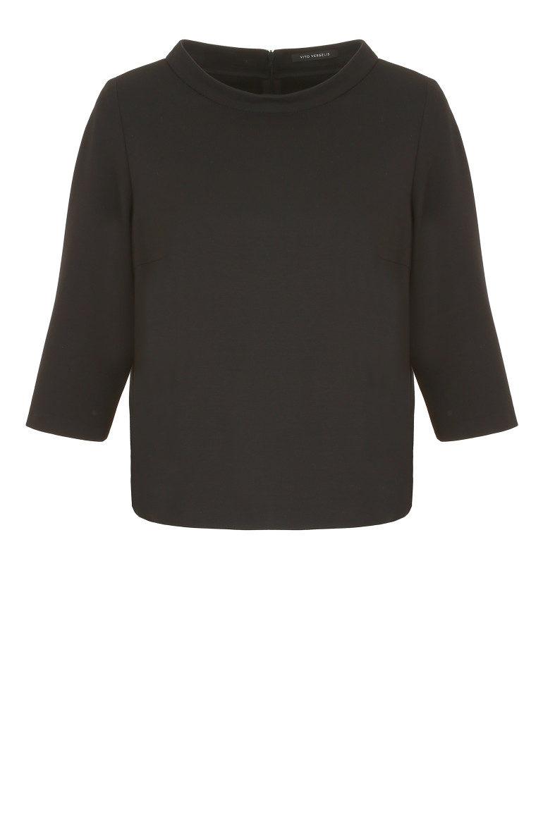 Czarna bluza z suwakami