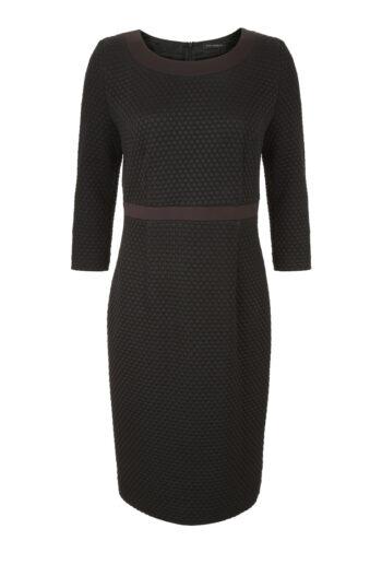 dzianinowa czarna sukienka Vito Vergelis
