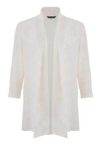długa biała narzutka Vito Vergelis. Narzutka na sukienkę.