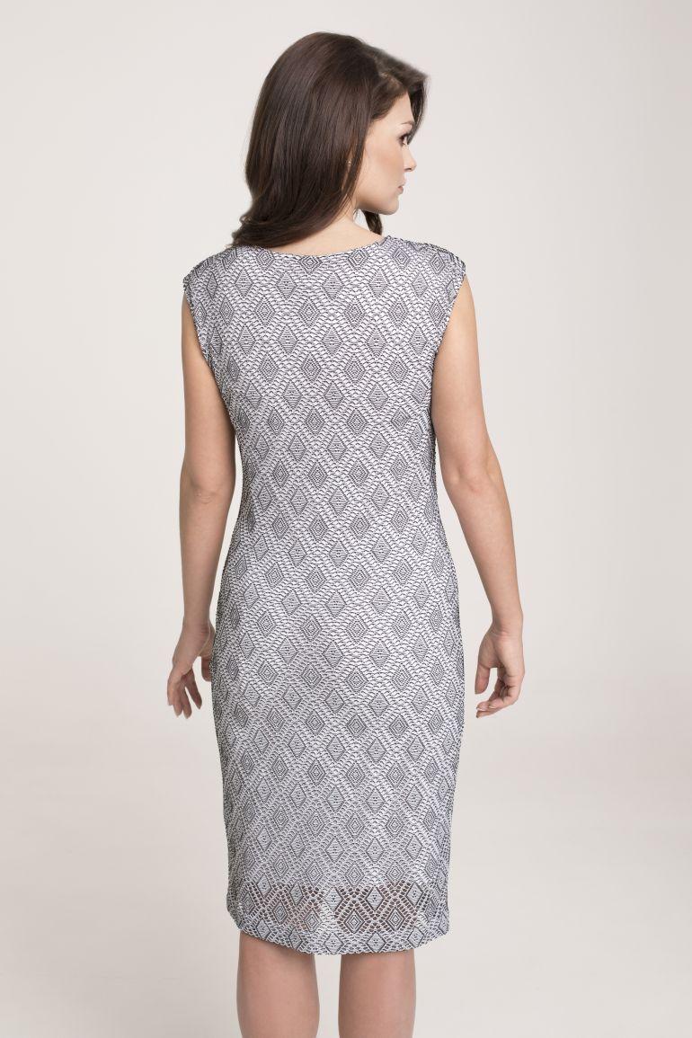 sukienka z dzianinowej koronki Vito Vergelis
