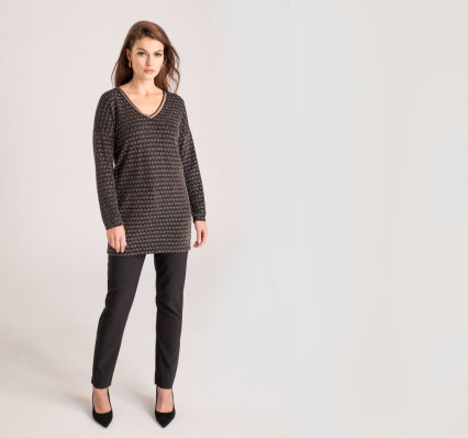 elastyczne spodnie damskie polska marka Vito Vergelis