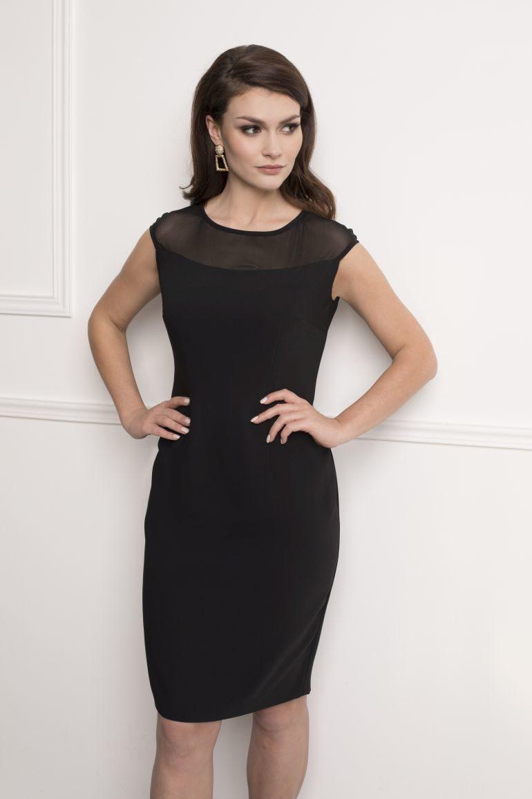Wizytowa mała czarna sukienka