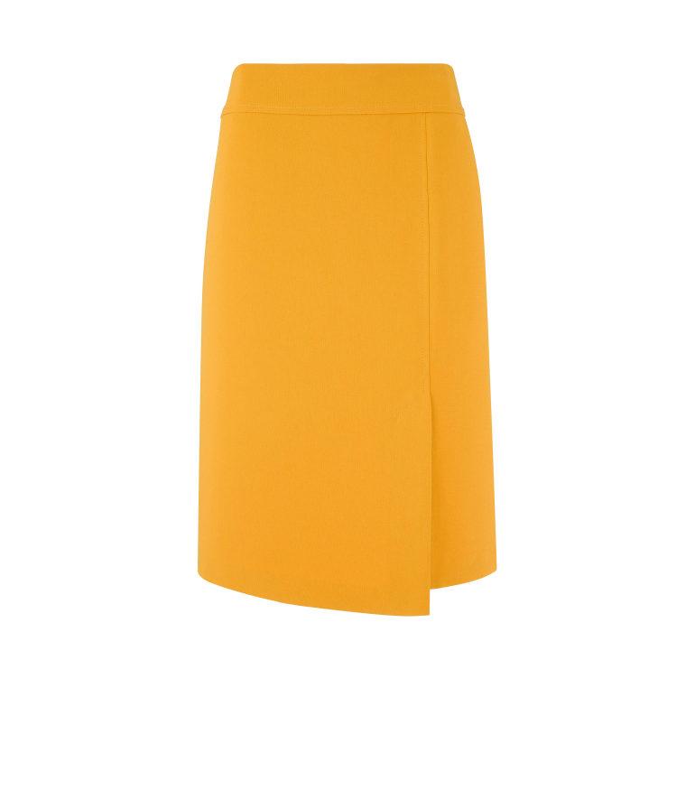 Miodowa klasyczna spódnica