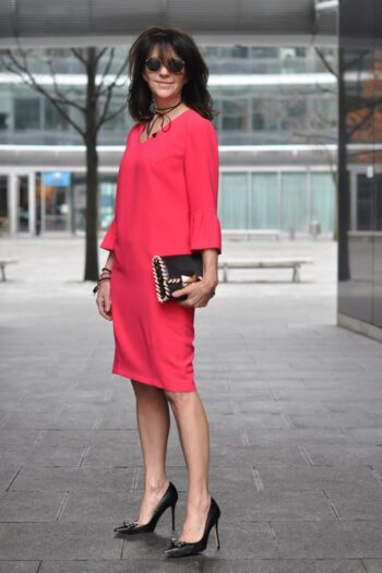 ooch50 w czerwonej sukience Vito Vergelis