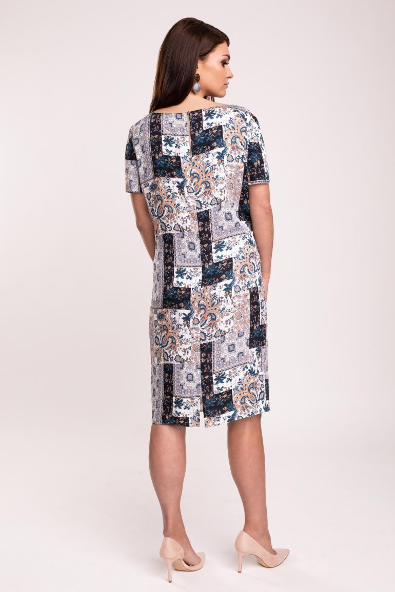 Przewiewna sukienka z wiskozy
