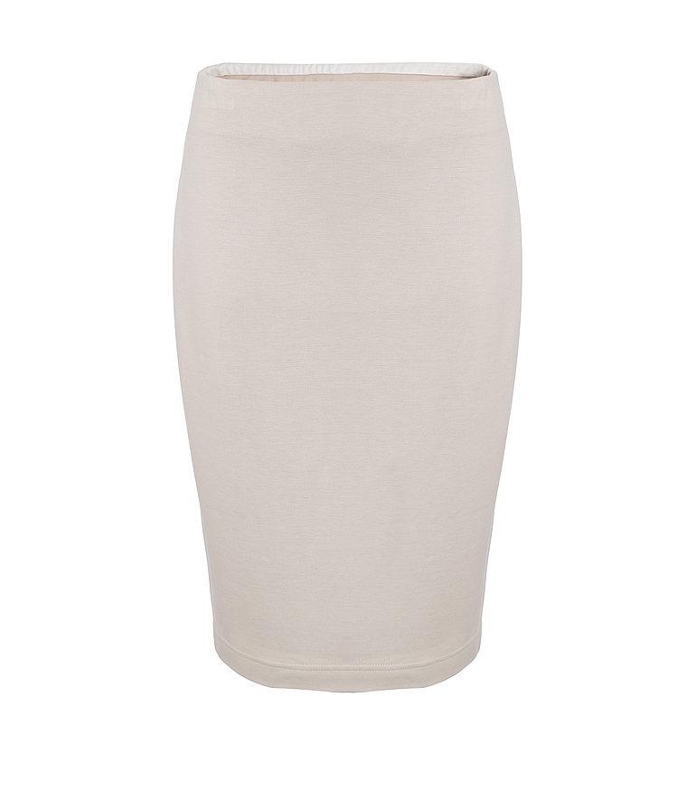 Beżowa spódnica na gumie