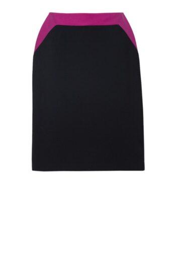 Dwukolorowa spódnica ołówkowa polskiej marki Vito Vergelis.