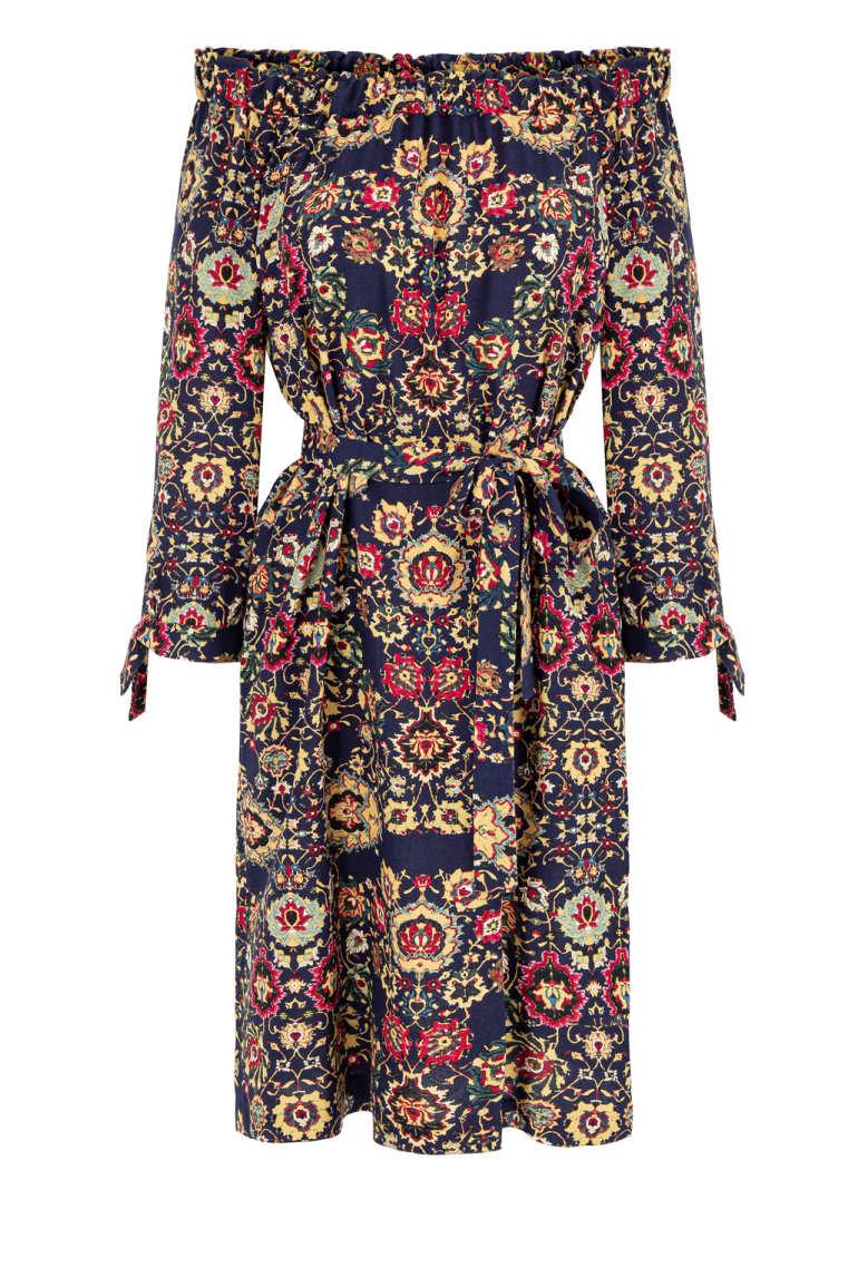 Sukienka hiszpanka z wiskozy