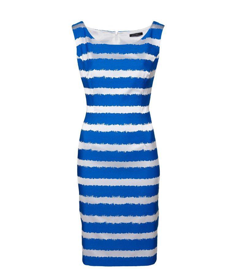 Ołówkowa sukienka w paski