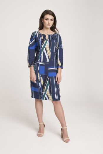 wzorzysta sukienka oversize marki Vito Vergelis