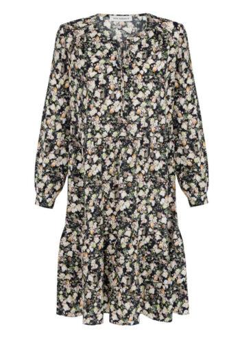 Sukienka z cupro z wiskozą w małe kwiatki marki Vito Vergelis
