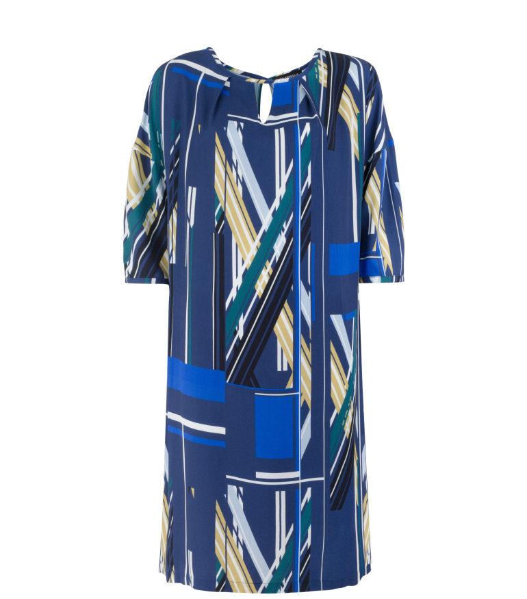 Sukienka oversize z wiskozy