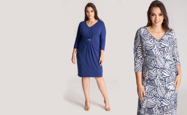 sukienki damskie wiosna 2021 polska marka Vito Vergelis rozmiary plus size