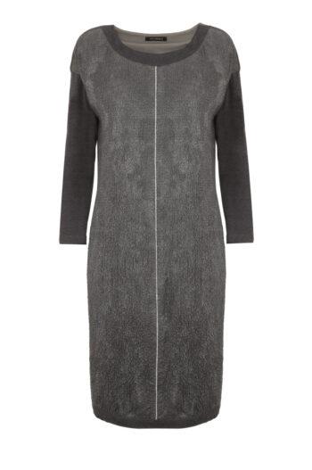 luźna sukienka oversize w kolorze szarym marki Vito Vergelis