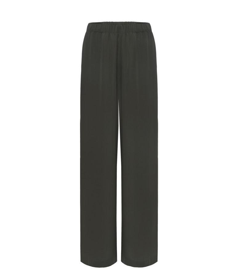 Szerokie spodnie khaki