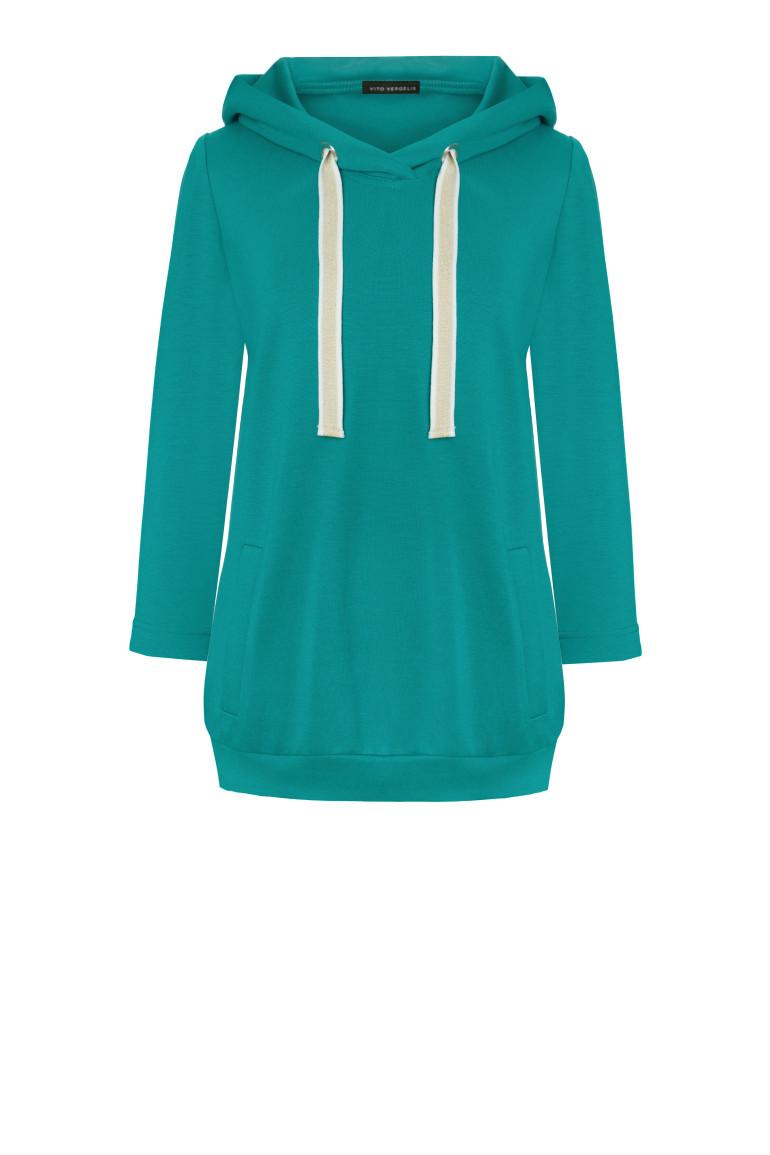 Zielona bluza dresowa