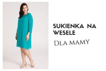 Sukienki na wesele dla mamy 2021 - przegląd polskie sukienki wizytowe od producenta Vito Vergelis