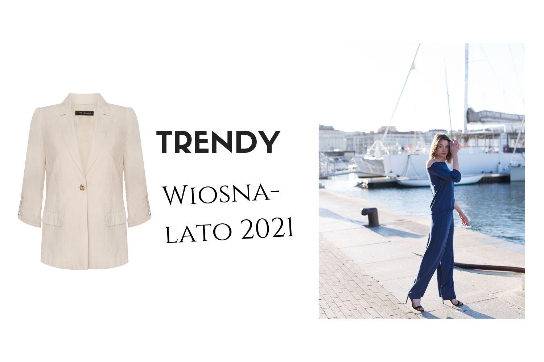 trendy w modzie damskiej na wiosne 2021 lato