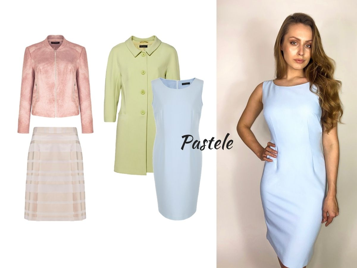 trendy wiosna lato 2021 moda damska pastele