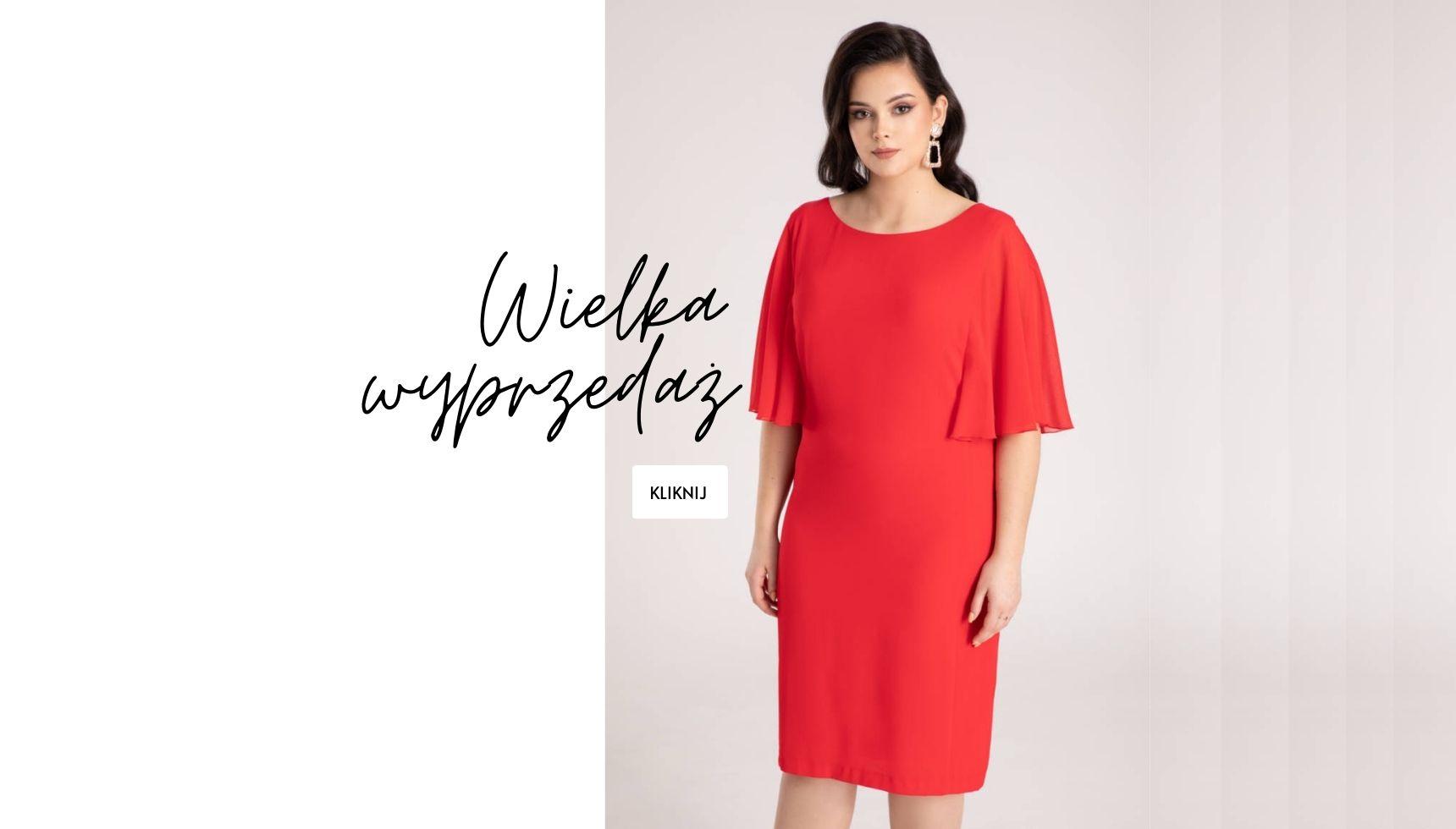 wielka wyprzedaż moda damska sklep internetowy z sukienkami i dresami polska marka Vito Vergelis wiosna 2021